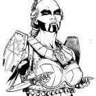 Dragonero - Studio per monaca guerriera (Sergio Bonelli Editore)